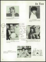1981 Bayou Chicot High School Yearbook Page 92 & 93