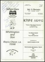 1981 Bayou Chicot High School Yearbook Page 104 & 105
