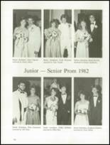 1982 Kenston High School Yearbook Page 166 & 167