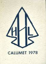 1978 Yearbook H. L. Bourgeois High School