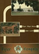 1983 Yearbook Piper High School