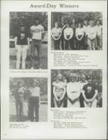 1981 Curwensville High School Yearbook Page 124 & 125