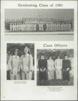 1981 Curwensville High School Yearbook Page 130 & 131