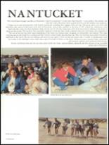 1987 Foxboro High School Yearbook Page 22 & 23