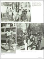 1987 Foxboro High School Yearbook Page 112 & 113