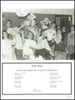 1987 Foxboro High School Yearbook Page 128 & 129