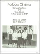 1987 Foxboro High School Yearbook Page 192 & 193