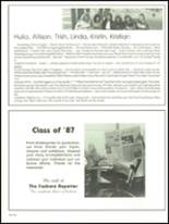 1987 Foxboro High School Yearbook Page 200 & 201