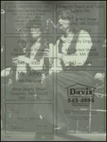 1987 Foxboro High School Yearbook Page 206 & 207