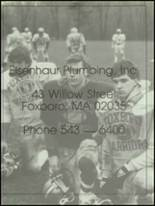 1987 Foxboro High School Yearbook Page 208 & 209