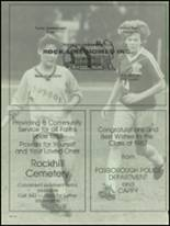 1987 Foxboro High School Yearbook Page 214 & 215