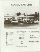 1984 Amphitheater High School Yearbook Page 98 & 99