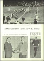 1967 Central High School Yearbook Page 86 & 87