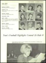 1967 Central High School Yearbook Page 152 & 153