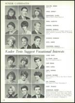 1967 Central High School Yearbook Page 154 & 155