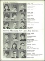 1967 Central High School Yearbook Page 158 & 159