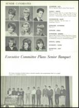 1967 Central High School Yearbook Page 162 & 163