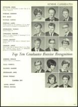 1967 Central High School Yearbook Page 166 & 167