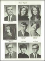 1969 Jackson High School Yearbook Page 54 & 55