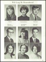 1969 Jackson High School Yearbook Page 58 & 59