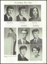 1969 Jackson High School Yearbook Page 66 & 67