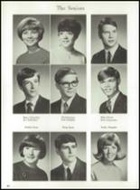 1969 Jackson High School Yearbook Page 68 & 69