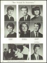 1969 Jackson High School Yearbook Page 72 & 73