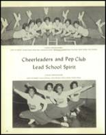 1962 Lincoln High School Yearbook Page 92 & 93