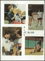 1985 Blair Academy Yearbook Page 10 & 11