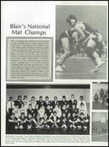 1985 Blair Academy Yearbook Page 124 & 125