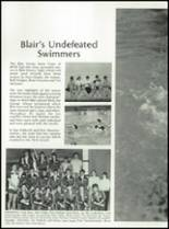 1985 Blair Academy Yearbook Page 126 & 127