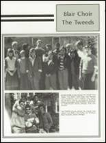 1985 Blair Academy Yearbook Page 132 & 133