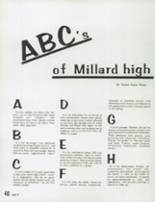 1978 Millard High School Yearbook Page 44 & 45