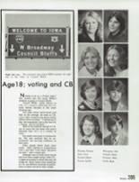 1978 Millard High School Yearbook Page 208 & 209