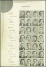 1936 Paris High School Yearbook Page 54 & 55