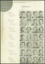 1936 Paris High School Yearbook Page 56 & 57