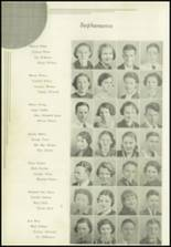 1936 Paris High School Yearbook Page 58 & 59