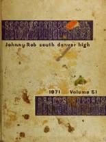 1971 Yearbook South High School