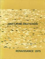 1975 Yearbook Sweet Home High School