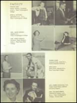 1955 Ralls High School Yearbook Page 12 & 13