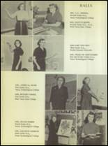 1955 Ralls High School Yearbook Page 14 & 15