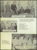 1955 Ralls High School Yearbook Page 16 & 17