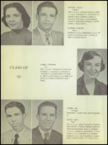 1955 Ralls High School Yearbook Page 20 & 21