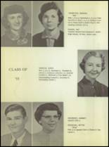 1955 Ralls High School Yearbook Page 26 & 27