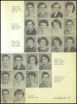 1955 Ralls High School Yearbook Page 34 & 35