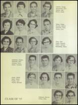 1955 Ralls High School Yearbook Page 36 & 37