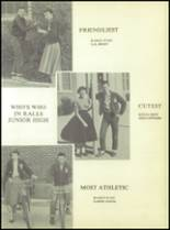1955 Ralls High School Yearbook Page 84 & 85