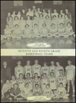 1955 Ralls High School Yearbook Page 90 & 91