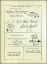 1955 Ralls High School Yearbook Page 108 & 109