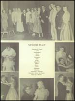 1955 Ralls High School Yearbook Page 120 & 121
